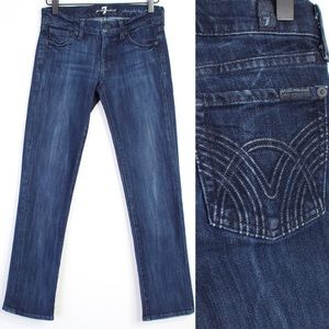 7 For All Mankind • Straight Leg Jeans • Size 24